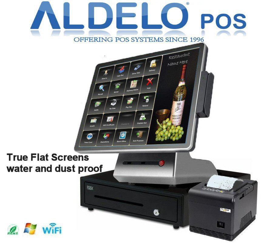 Aldelo Pos Pro Complete Steakhouse Or Mexican Style Windows 10 Pos