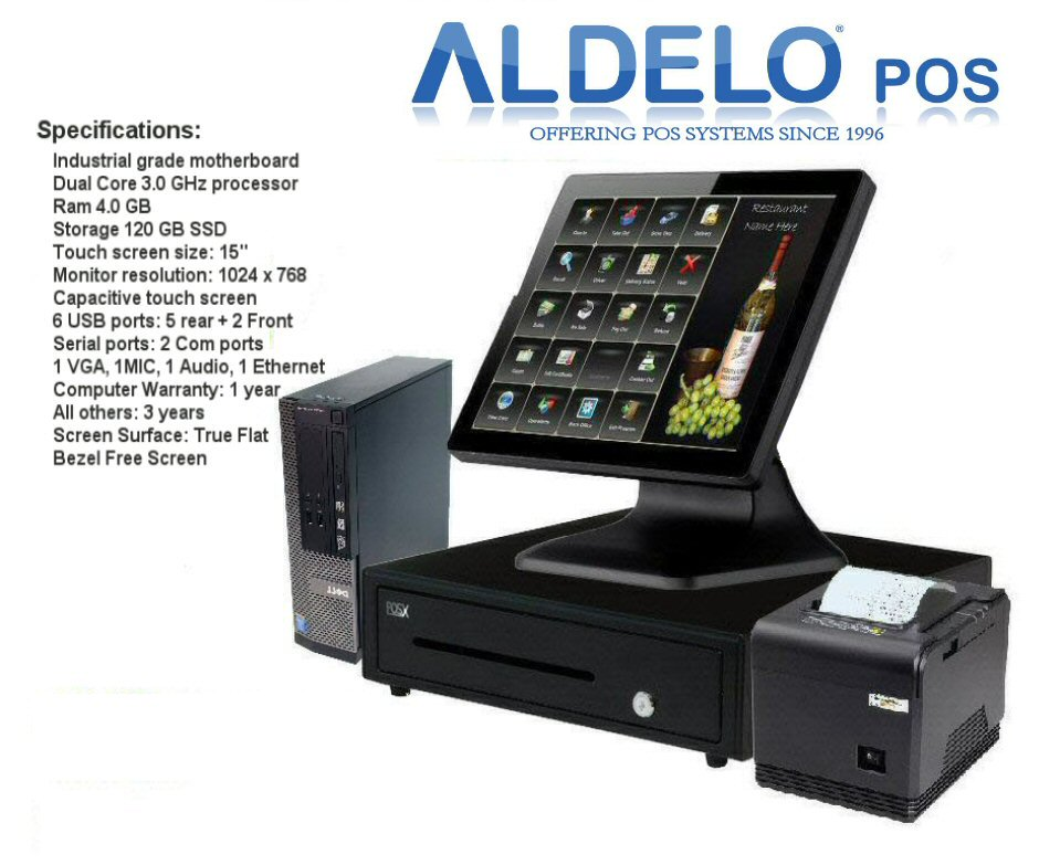 Details About Aldelo Pro Pro Pizza Restaurant Pos Systems 90 Days Free Tech Support Windows 10