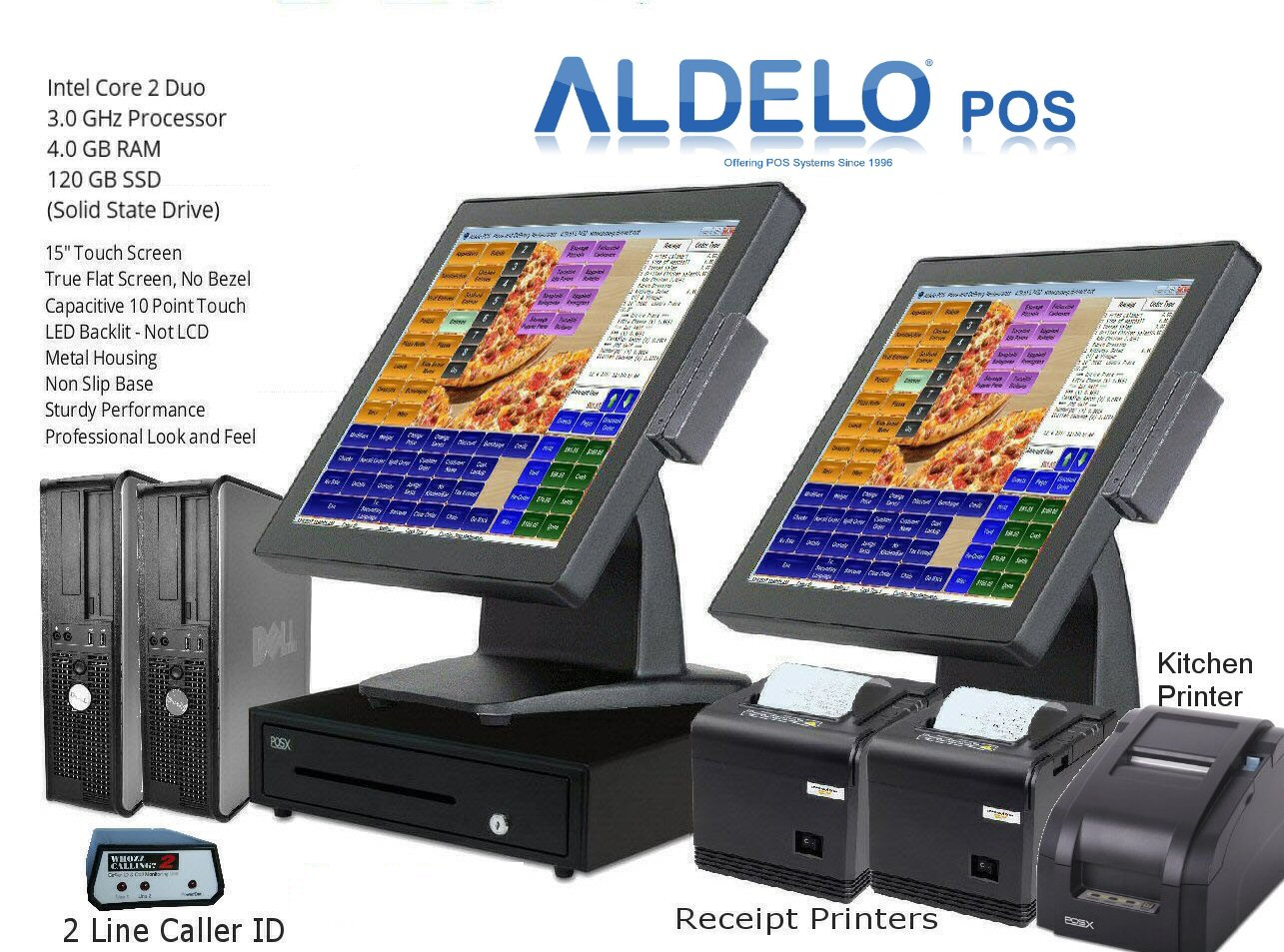 Aldelo Pos Pro Italian Pizza Windows 10 Pos System Kitchen Printer