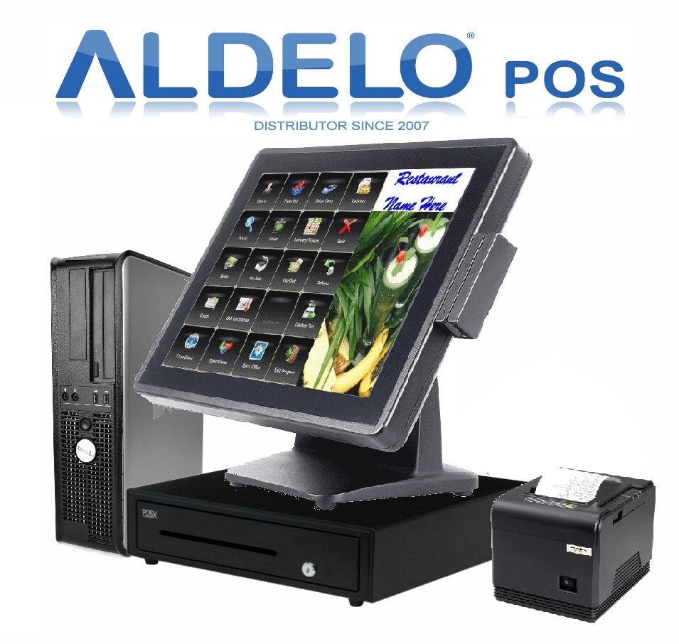 Aldelo pos pro restaurant system pc pos equipment for Equipement resto pro